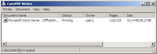 Printer driver writer pdf