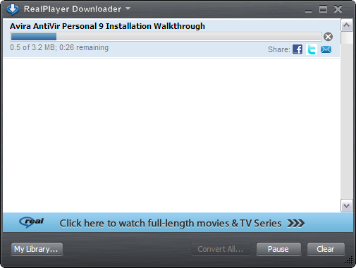 How to download youtube videos using realplayer sp refolder the downloaded ccuart Image collections